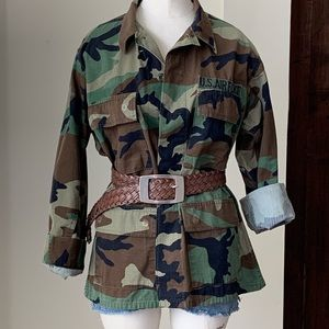 Tops - Original US AIR FORCE Camouflage Shirt Sz S